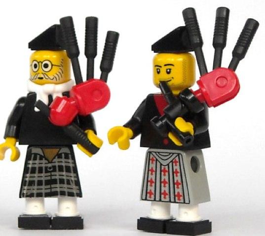 Lego scots custom minifigs by mijasper