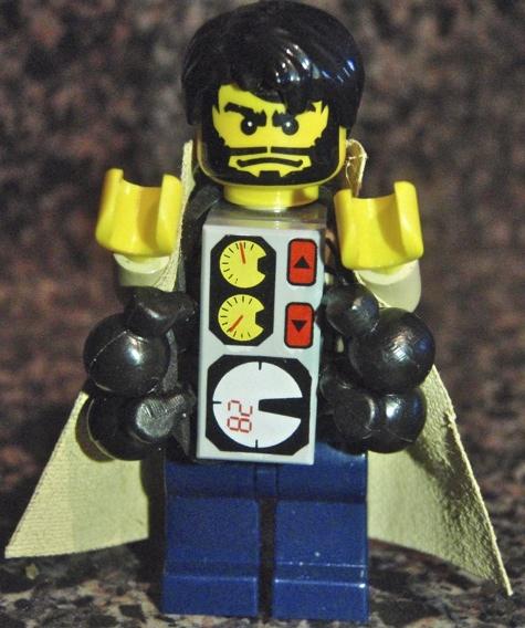 The Real Lego Terrorist custom minifig