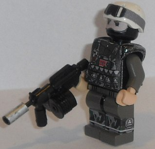 norwegian ops forest soldier Lego custom minifig by exxtrooper