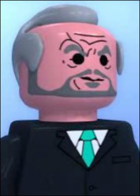 Lego Digital Sir Alan Sugar custom minifig