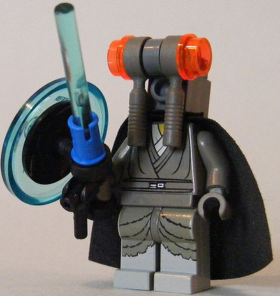 custom head minifig jedi by cole blaq