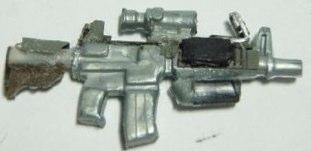 Custom Minifig M4A1 by vincentb