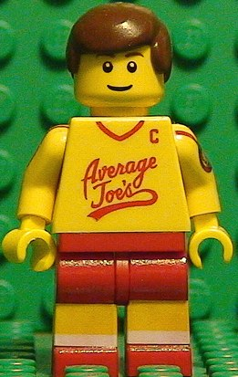 dodge ball average Joe custom minifig by shmails