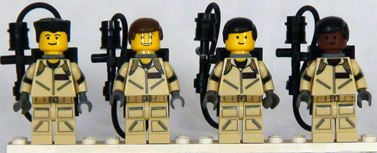 ghostbusters custom minifigs by shmails