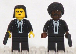 Pulp fiction in Lego by shmails