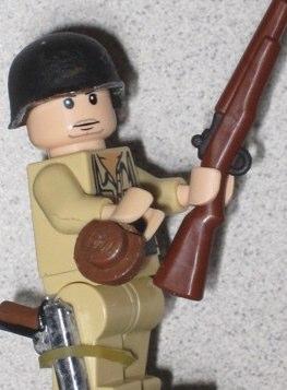 WWII GI custom minifig by ewok master