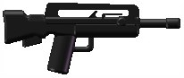 Lego Fama bullpup custom minifig weapon design