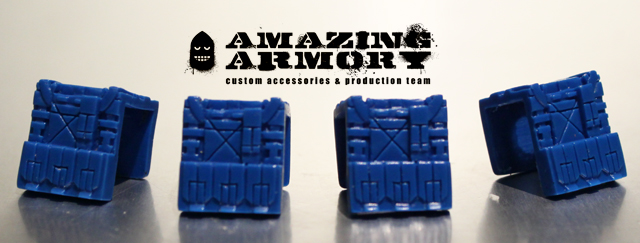 Amazing Armory - Vest [Blue] Limited Sample Edition Pack