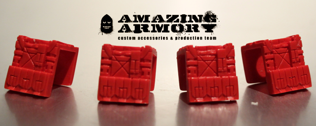 Tan Amazing Armory - Vest [RED] Limited Sample Edition Pack