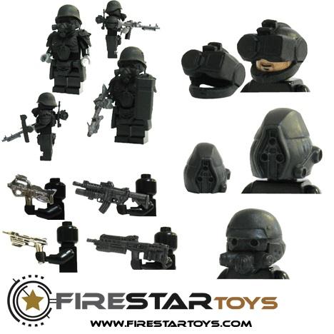 firestar lego custom minifigs
