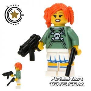 Candy Girl Assassin custom lego minifigure