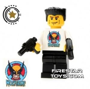 Underground Wolverine custom minifigure lego