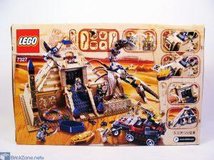 LEGO Scorpion pyramid set 7327 box