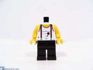 LEGO Scorpion pyramid set 7327 torso