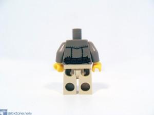 LEGO Scorpion pyramid set 7327 back decal
