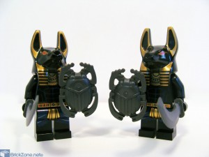 LEGO Scorpion pyramid set 7327 warriors