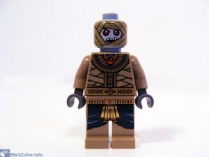 LEGO Scorpion pyramid set 7327 mummy head