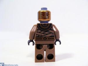 LEGO Scorpion pyramid set 7327 gold prnt