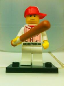 lego collectors minifig baseball