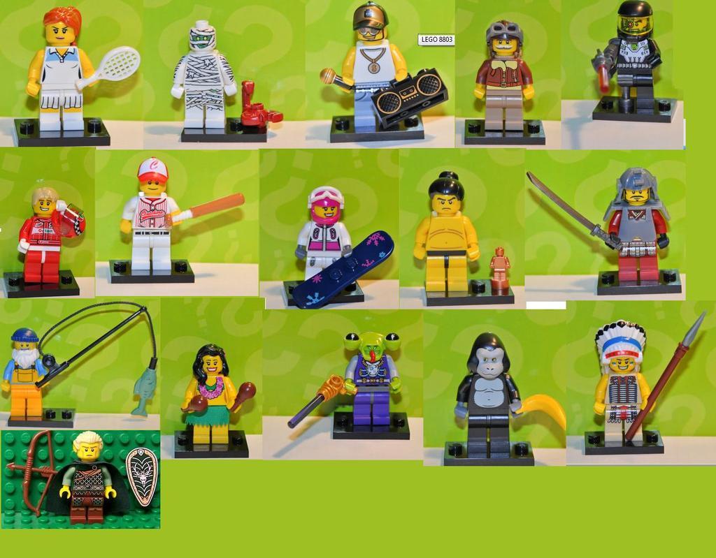 lego collectors minifigs