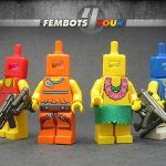 Crystal Minifigs Collection Wave 1