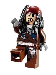 collector lego minifigure pirates of the caribbean minifig jack sparrow
