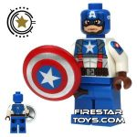Dragonbrick Captain America Custom Minifigure