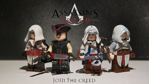 Assassins Creed Custom Minifigures Custom Lego Minifigures