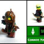 Crystal Minifigs Green Arrow Custom Minifigure