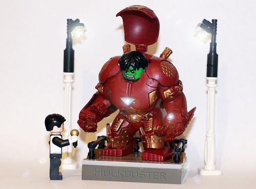 Iron Man Hulkbuster Suit Custom Minifigure | Custom LEGO ...