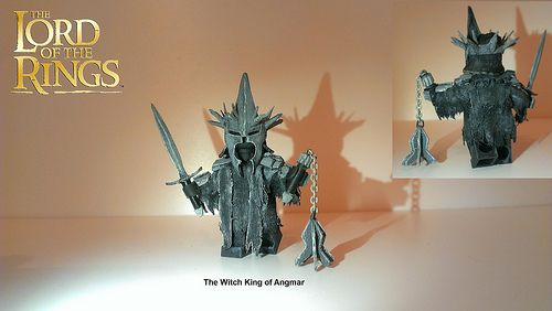 Witch King of Angmar Custom Minifigure
