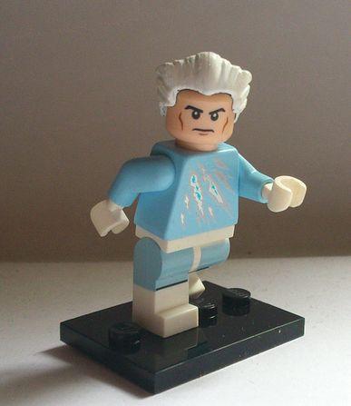 Marvel Quicksilver Custom Minifigure   Custom LEGO Minifigures