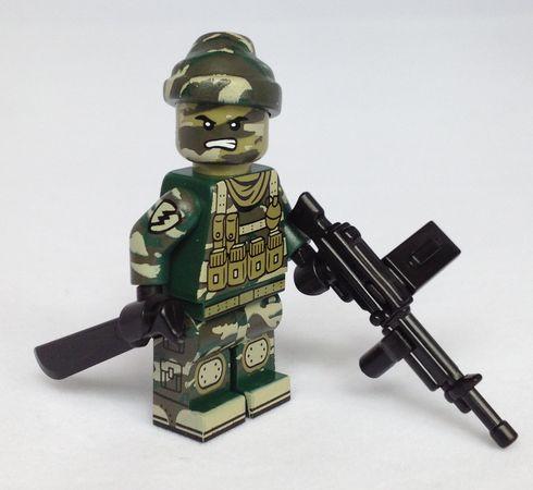Citizen Brick Jungle Commando Minifigure