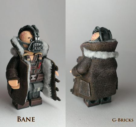 DKR Bane Coat Custom Minifigure