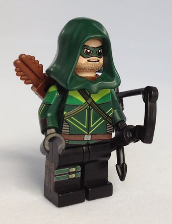 Minifigs4u Emerald Archer Custom Minifigure Front