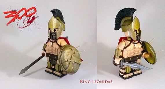 King Leonidas Custom Minifigure