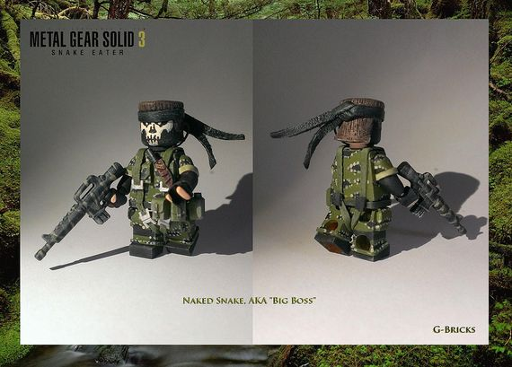 Metal Gear Solid 3 Snake Eater Custom Minifigure