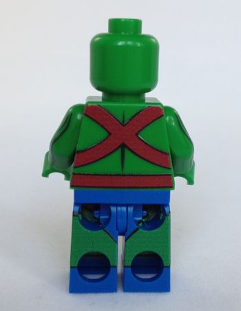 Minifigs4U Martian Pursuer Custom Minifigure Back