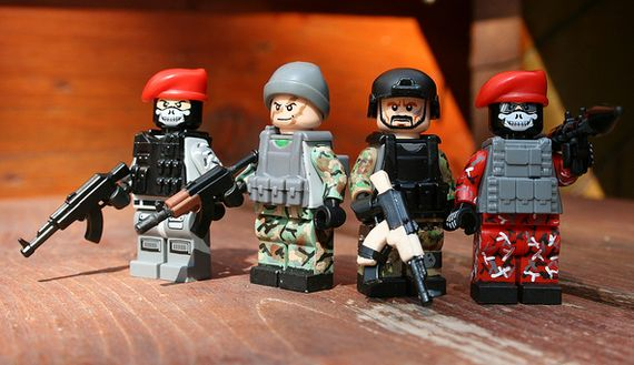 Russian Armada Custom Minifigures