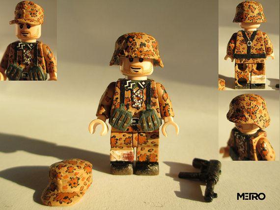 SS Deutscher Infanterist Custom Minifigure