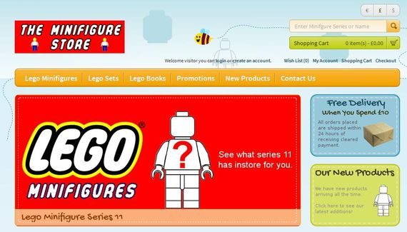 The Minifigure Store - Buy official LEGO Minifigures