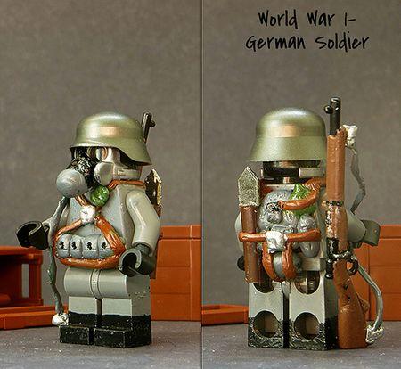 WW1 German Soldier Custom Minifigure