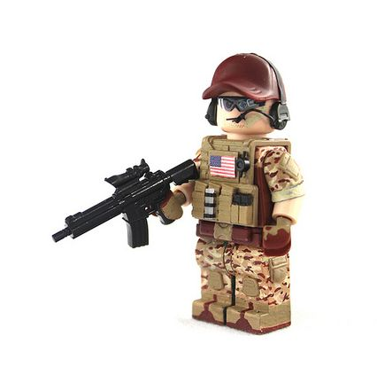 BF4 US Engineer Custom Minifigure