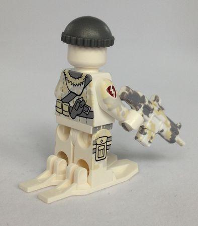 Citizen Brick Polar Commando Custom Minifigure Back