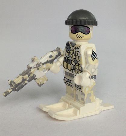 Citizen Brick Polar Commando Custom Minifigure
