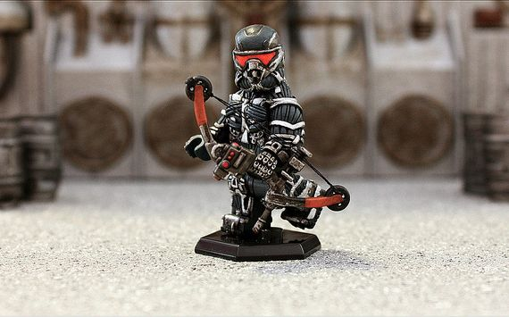 Crysis Nanosuit Custom Minifigure