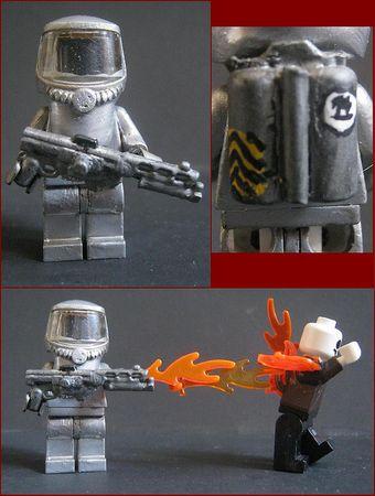 Flame Trooper Custom Minifigure