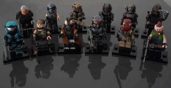Jens R Custom Minifigure Collection