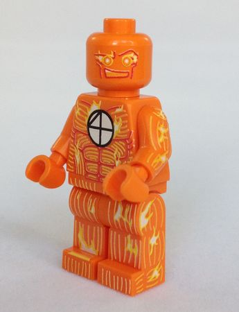 Match Stick Minifigs4u Custom Minifigure