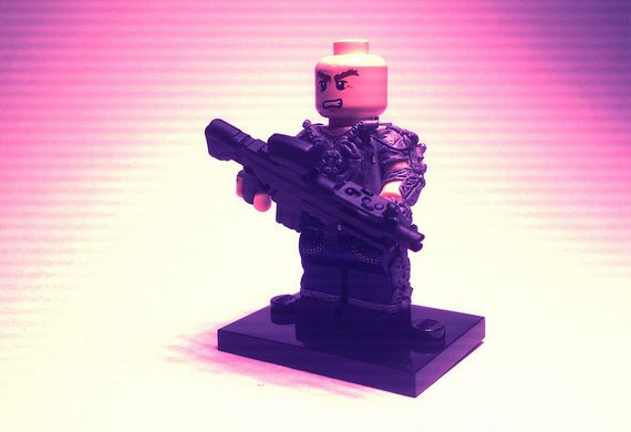 Max DeCosta 3rd Generation Exo Suit Custom Minifigure